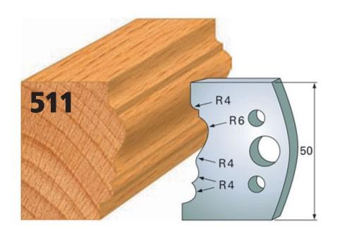 Profilmesser bzw. Abweiser Nr. 511 | 50 mm