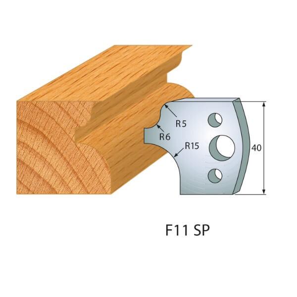 Profilmesser bzw. Abweiser Nr.11 | BG-konform - 40mm