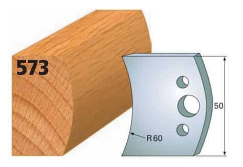 Profilmesser bzw. Abweiser Nr. 573 | 50 mm