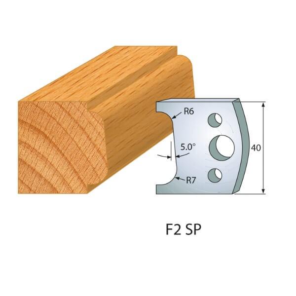 Profilmesser bzw. Abweiser Nr.2 | BG-konform- 40mm