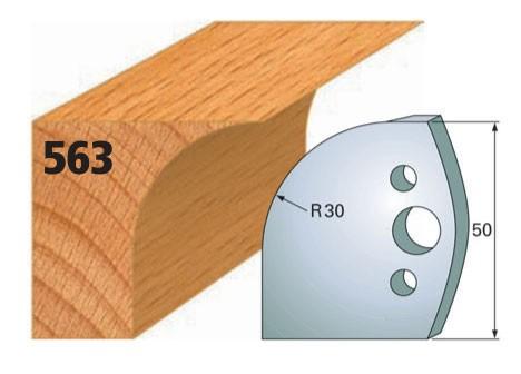 Profilmesser bzw. Abweiser Nr. 563 | 50 mm