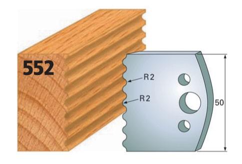 Profilmesser bzw. Abweiser Nr. 552 | 50 mm