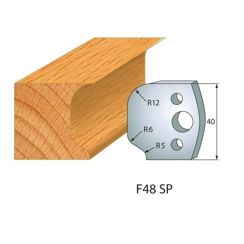Profilmesser bzw. Abweiser Nr.48 | BG-konform - 40 mm