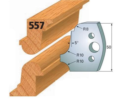 Profilmesser bzw. Abweiser Nr. 557 | 50 mm