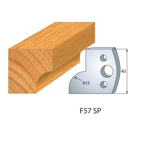 Profilmesser bzw. Abweiser Nr.57 | BG-konform - 40 mm