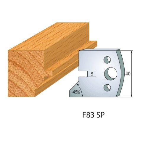 Profilmesser bzw. Abweiser Nr.83 | BG-konform - 40 mm