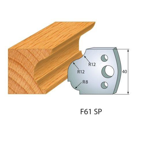 Profilmesser bzw. Abweiser Nr.61 | BG-konform - 40 mm