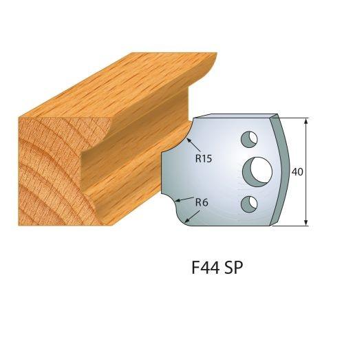 Profilmesser bzw. Abweiser Nr.44 | BG-konform - 40 mm