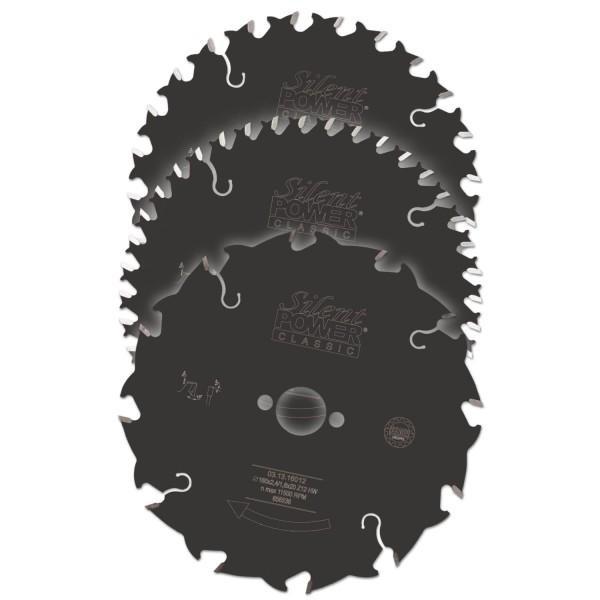 Handkreissägeblätter SILENT-POWER® Classic Topset 3 Stück