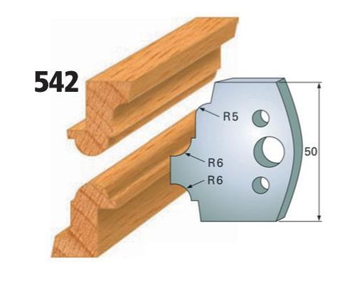 Profilmesser bzw. Abweiser Nr. 542 | 50 mm