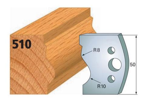 Profilmesser bzw. Abweiser Nr. 510 | 50 mm