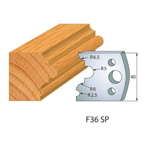 Profilmesser bzw. Abweiser Nr.36 | BG-konform - 40 mm