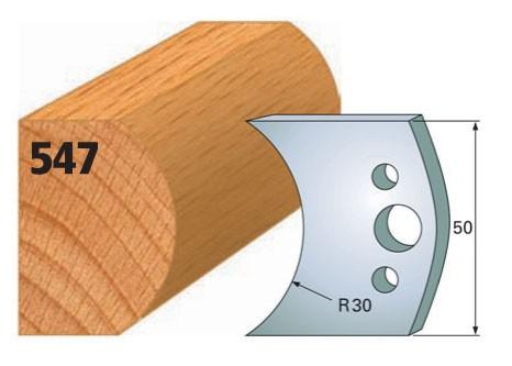 Profilmesser bzw. Abweiser Nr. 547 | 50 mm