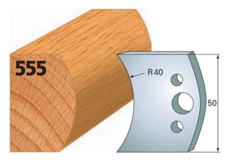 Profilmesser bzw. Abweiser Nr. 555 | 50 mm