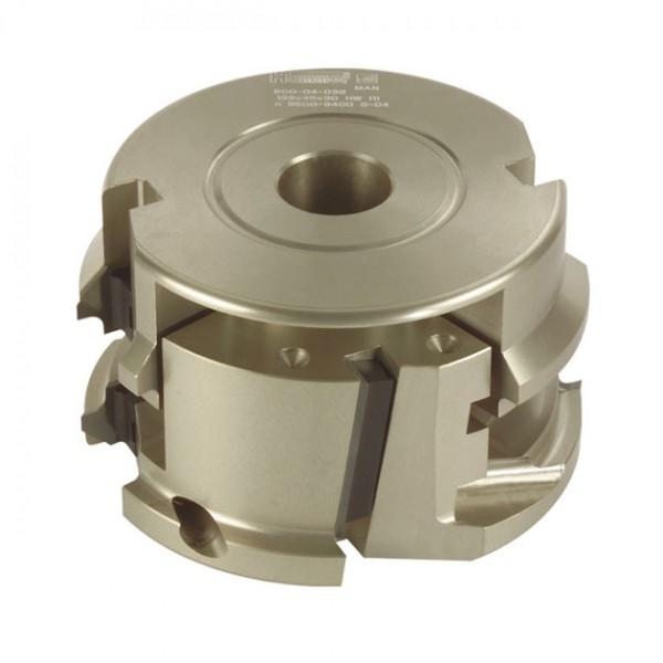 WP-HW-Abrund-, Füge- und Fasemesserkopf, Standard-Ausführung
