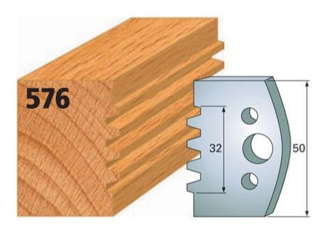 Profilmesser bzw. Abweiser Nr. 576 | 50 mm