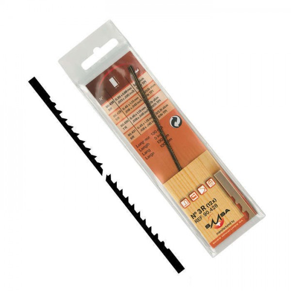 Pégas Laubsägeblatt Skip Reverse, Blattlänge 130 mm