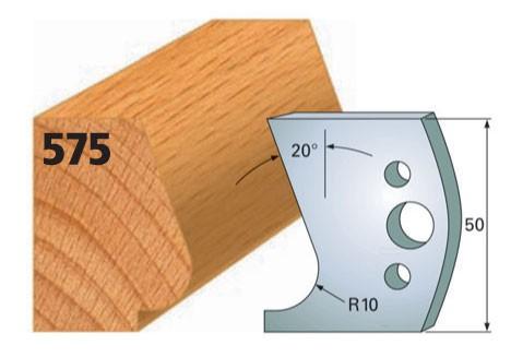 Profilmesser bzw. Abweiser Nr. 575 | 50 mm