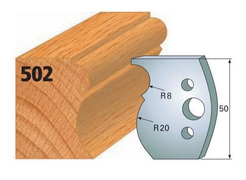 Profilmesser bzw. Abweiser Nr. 502 | 50 mm