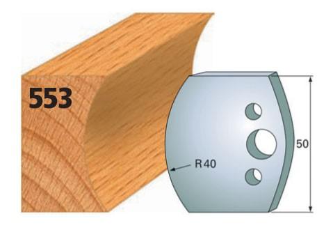 Profilmesser bzw. Abweiser Nr. 553 | 50 mm
