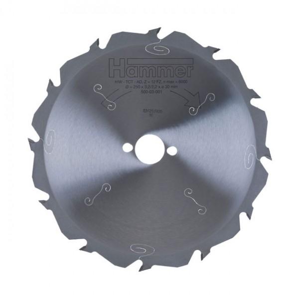 Rohzuschnitt-Sägeblatt HW, Standard-Ausführung