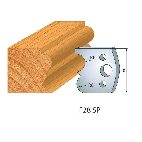 Profilmesser bzw. Abweiser Nr.28 | BG-konform - 40 mm