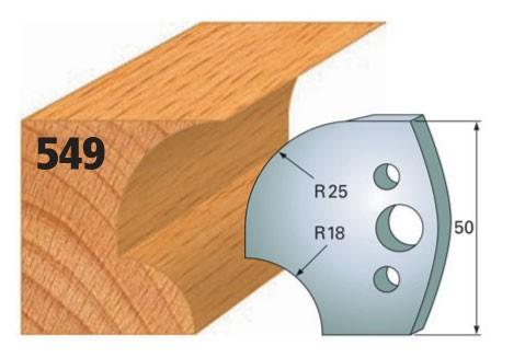 Profilmesser bzw. Abweiser Nr. 549 | 50 mm