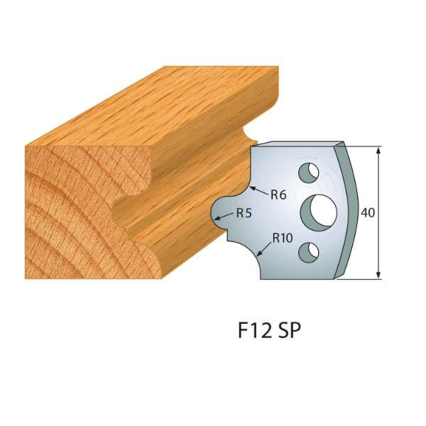 Profilmesser bzw. Abweiser Nr.12 | BG-konform - 40mm