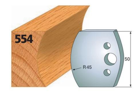 Profilmesser bzw. Abweiser Nr. 554   50 mm