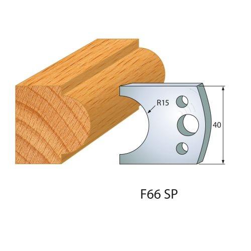 Profilmesser bzw. Abweiser Nr.66 | BG-konform - 40 mm