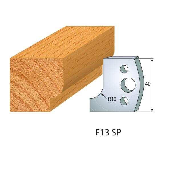Profilmesser bzw. Abweiser Nr.13 | BG-konform - 40mm