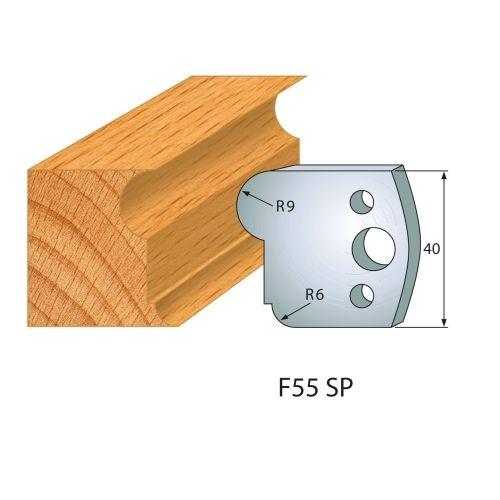 Profilmesser bzw. Abweiser Nr.55 | BG-konform - 40 mm