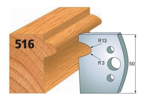 Profilmesser bzw. Abweiser Nr. 516 | 50 mm