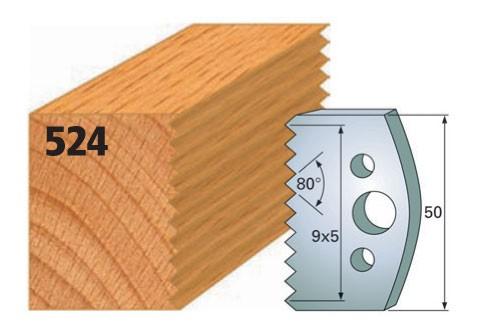Profilmesser bzw. Abweiser Nr. 524 | 50 mm