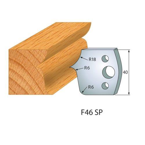 Profilmesser bzw. Abweiser Nr.46 | BG-konform - 40 mm