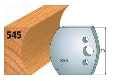 Profilmesser bzw. Abweiser Nr. 545 | 50 mm