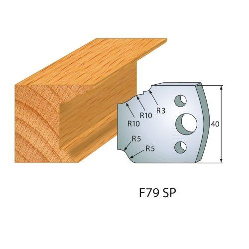 Profilmesser bzw. Abweiser Nr.79 | BG-konform - 40 mm