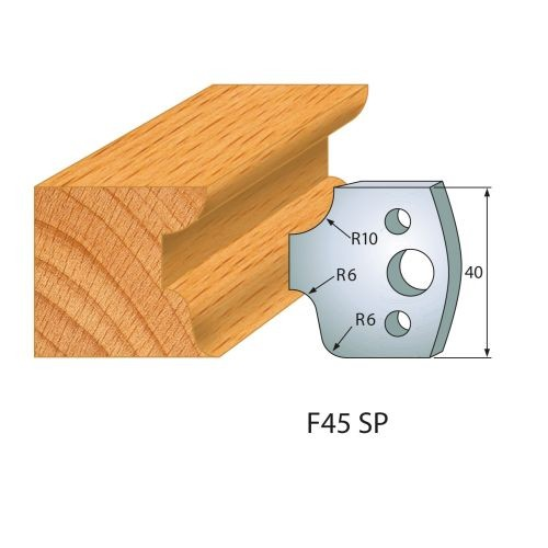 Profilmesser bzw. Abweiser Nr.45 | BG-konform - 40 mm