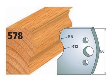 Profilmesser bzw. Abweiser Nr. 578 | 50 mm