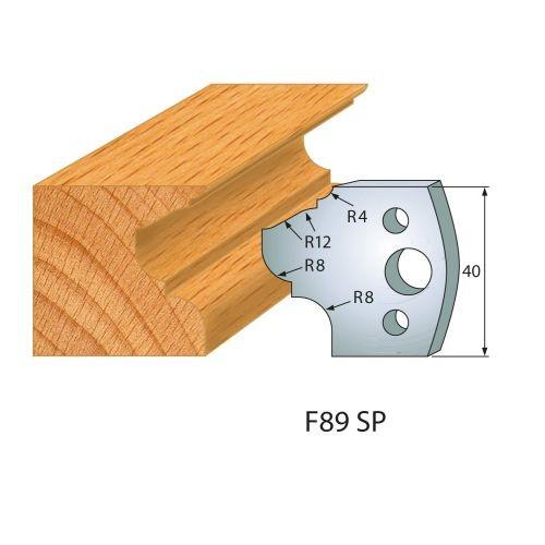 Profilmesser bzw. Abweiser Nr.89 | BG-konform - 40 mm