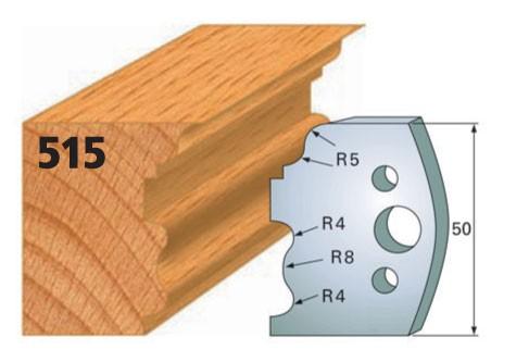 Profilmesser bzw. Abweiser Nr. 515 | 50 mm