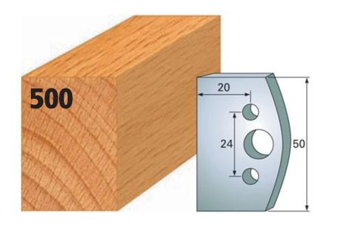 Profilmesser bzw. Abweiser Nr. 500 | 50 mm