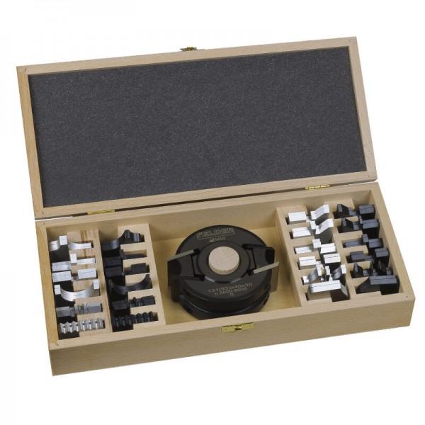 SET-Angebot, 54-teilig: Kassettensatz mit Universal-Sicherheitsmesserkopf, 12 Paar Messer + Abweiser