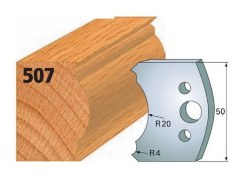 Profilmesser bzw. Abweiser Nr. 507 | 50 mm