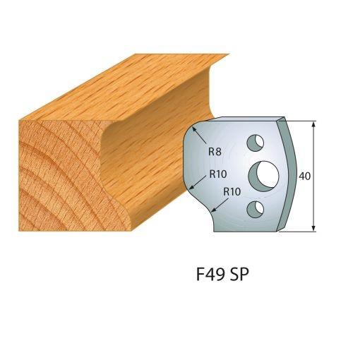 Profilmesser bzw. Abweiser Nr.49 | BG-konform - 40 mm