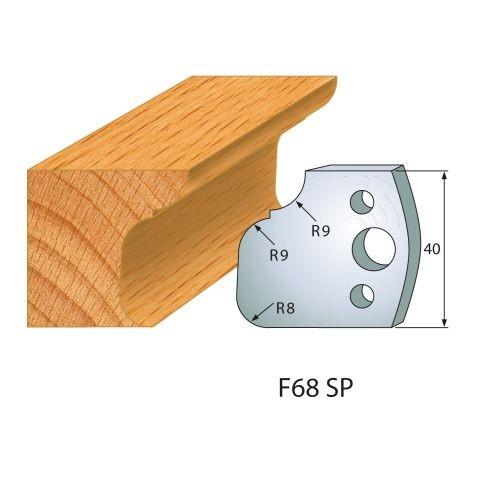 Profilmesser bzw. Abweiser Nr.68 | BG-konform - 40 mm