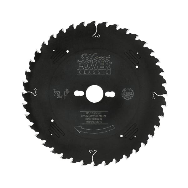 Universal-Sägeblatt, Wechselzahn Ø 250 mm, Z 40