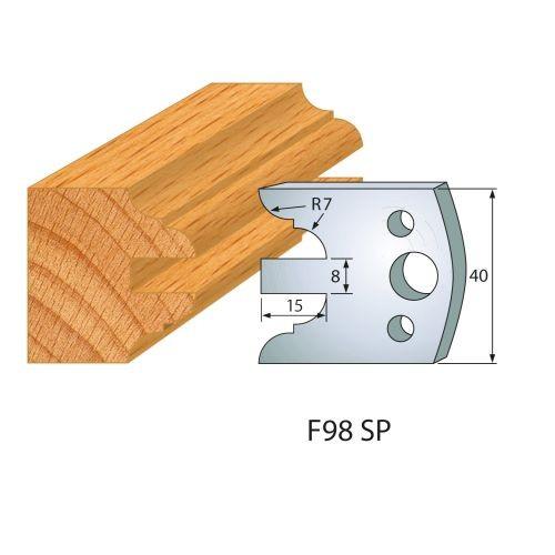 Profilmesser bzw. Abweiser Nr.203 | BG-konform - 40 mm