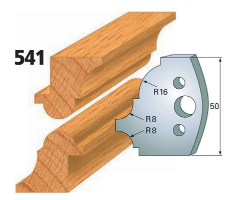 Profilmesser bzw. Abweiser Nr. 541 | 50 mm