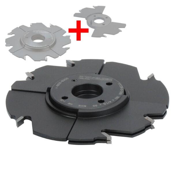 Verstellnuter-Set HW 4,0 - 13,5 mm
